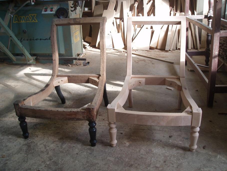 Copies de meubles anciens de fauteuils de chaises de for Copie de meuble